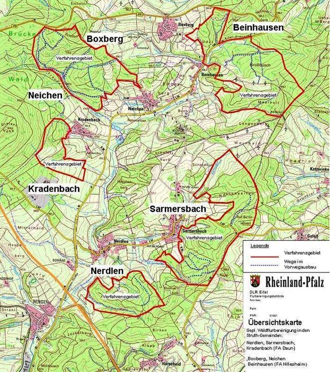Eifel Karte Pdf.Katzwinkel Vulkaneifel Vereinfachtes Flurbereinigungsverfahren